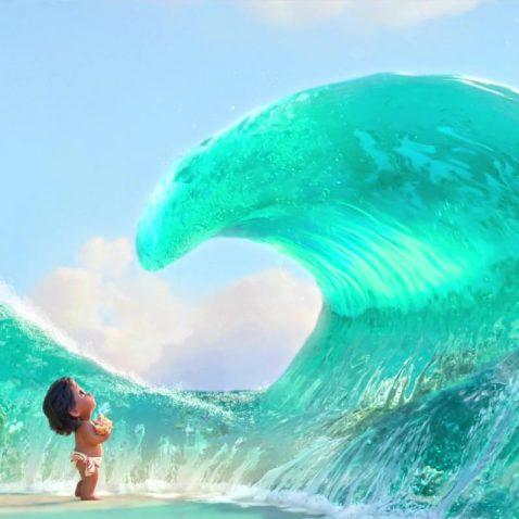 Fale, krople i otchłań oceanu – animacja wody w filmie Vaiana