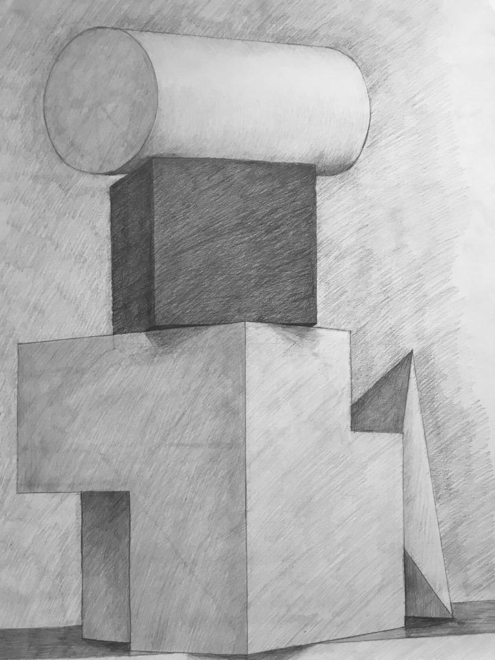 Katarzyna Kuternak, szkoła rysunku, kurs rysunku, nauka rysunku, rysunek architektoniczny, architektura, rysunek ołówkiem, rysunek, konstrukcja