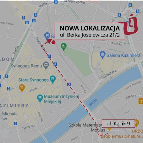 Nowa lokalizacja w Krakowie